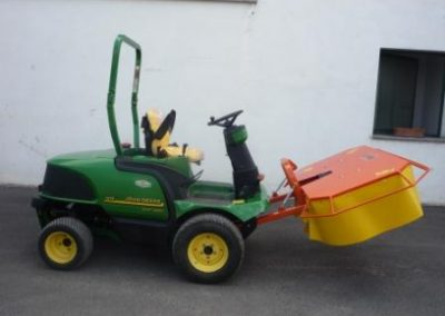 Compact drum mower
