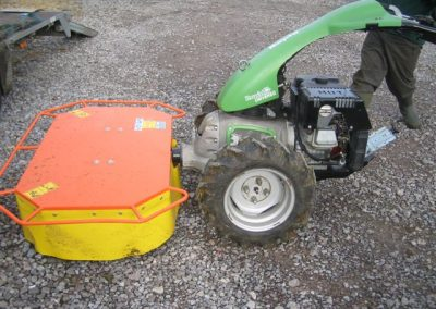 Rapid drum mower