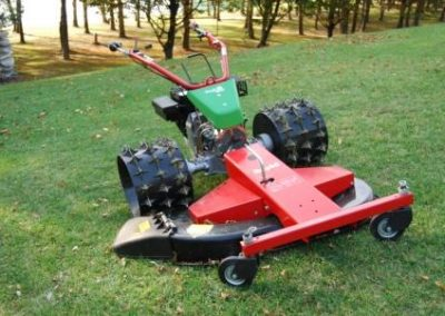 Rapid finishing mower