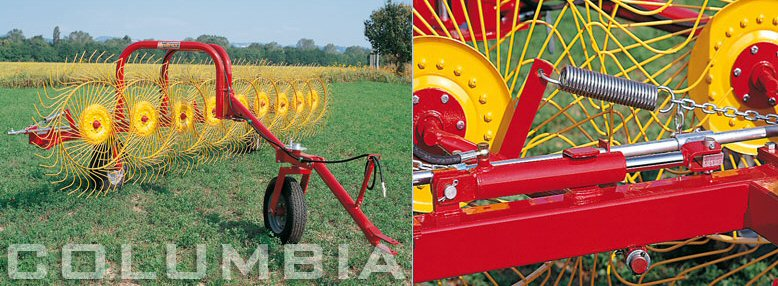 Sitrex Finger Wheel Rakes | Rapid Tractors UK