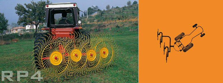 Sitrex Finger Wheel Rakes | Rapid Tractors UK